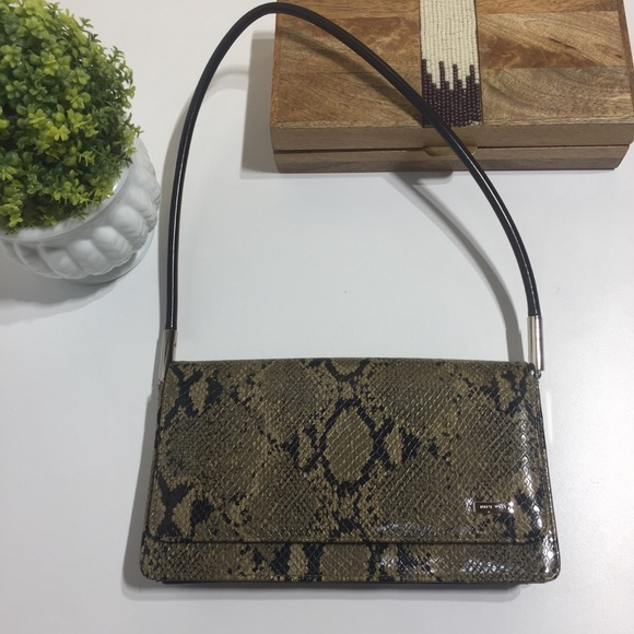 Nine West python snake print small shoulde…